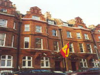 The gloomy picture the Spanish Consulate shows in its website